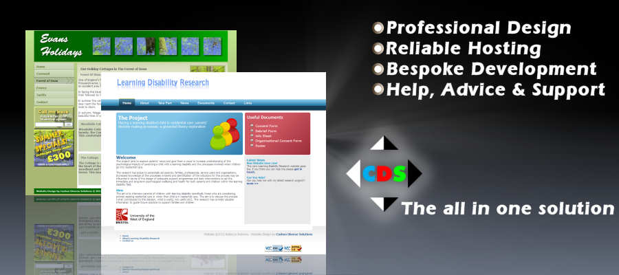 website design Ross on Wye - CDS Web Design