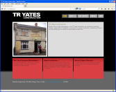 The TR Yates Construction Website, designed by CDS Web Design based in Ross-on-Wye, Herefordshire