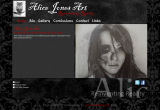 The Alice Jones Art Website, designed by CDS Web Design based in Ross-on-Wye, Herefordshire
