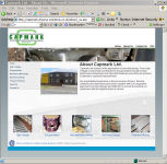 The Capmark Engineering Website, designed by CDS Web Design based in Ross-on-Wye, Herefordshire