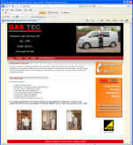 The Gas tec Website, designed by CDS Web Design based in Ross-on-Wye, Herefordshire