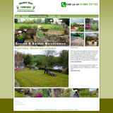 The Meadow View Landscapes Website, designed by CDS Web Design based in Ross-on-Wye, Herefordshire